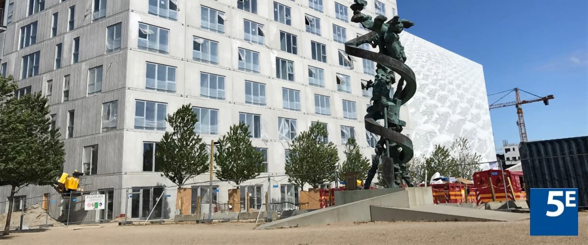 Byggeplads Ørestaden